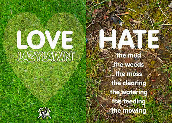 Lazy Lawn Love Hate